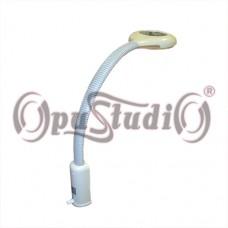 Лампа-лупа увеличительная LED LQ-121L с креплением к столу
