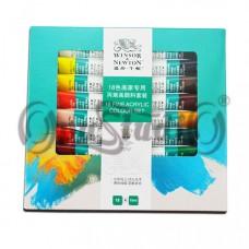 Набор акриловых красок Winsor & Newton 18 цветов