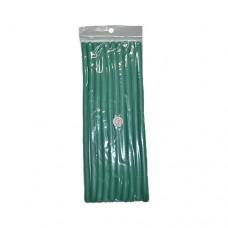 Бигуди поролоновые мягкие (Папильотки) №7 зеленые 8x240mm