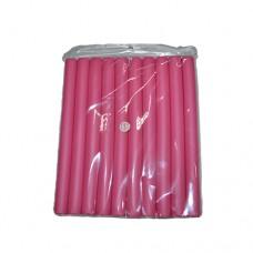 Бигуди поролоновые мягкие (Папильотки) №1 розовые 20x240mm