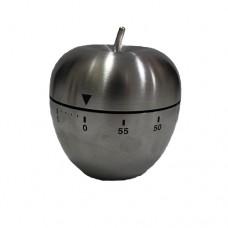 Таймер яблоко металлический с механическим заводом