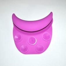 Подголовник на мойку парикмахерскую PM-09 (малиновый цвет)